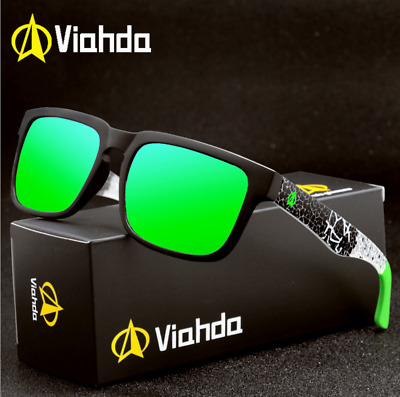 AU10.69 • Buy VIAHDA Men Sport Outdoor Polarized Sunglasses Driving Riding Fashion Glasses