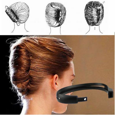 $0.99 • Buy 2pcs Women Bridal Hair Twist Styling Clip Stick Bun Maker Tool Hair Accessories