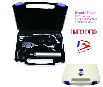 ENT Otoscope Ophthalmoscope Opthalmoscope Nasal Larynx Diagnostic Set CE NEW • 29.99£