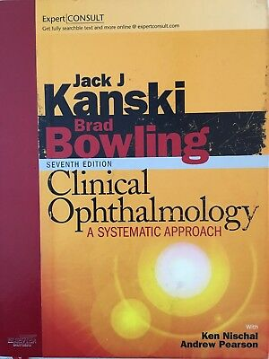 Clinical Ophthalmology: A Systematic Approach: Expert Consult By Jack J. Kanski, • 80£