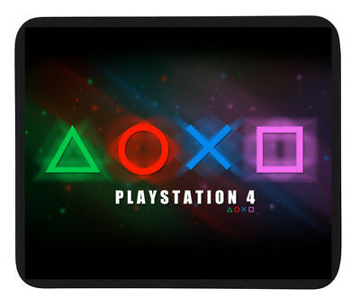 SONY PS4 GAMING DESIGN MOUSE MAT / PAD - PC/Laptop Or Dinner Mat / Coaster- Gift • 4.95£