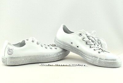 cc3875094bfe Converse X Miley Cyrus Chuck Taylor All Star - CHOOSE SIZE - 162238C Silver  Low •