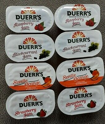 £6.99 • Buy Jam Portions Duerrs Assorted   - Select Your Pack Size NEW STOCK