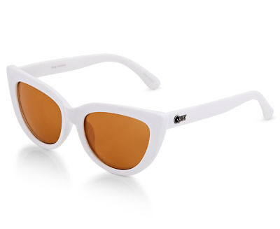 AU34.99 • Buy Womens Quay Australia Rhymes White Rose Cat 3 Lens Fashion Sunglasses & Pouch!