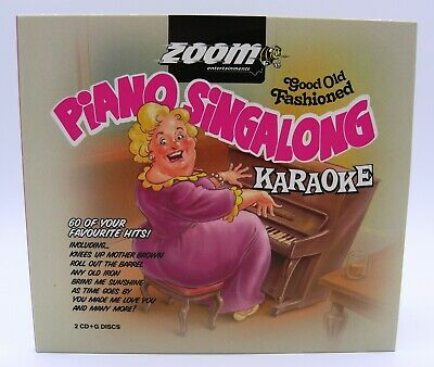 £7.95 • Buy Zoom Karaoke Old Fashioned Piano Singalong - Double CD+G - Mrs Mills Music Hall