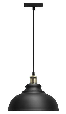 Vintage Industrial Metal Ceiling Pendant Shade Modern Hanging Retro Light M0081 • 19.99£