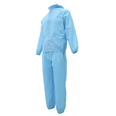 £13.90 • Buy Overall Coveralls Protective Antistatic Suit Painting Decorating Lab Blue L