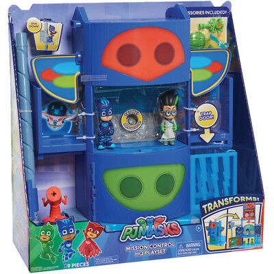 PJ Masks Mission Control HQ Playset With Catboy & Romeo Figures • 49.99£