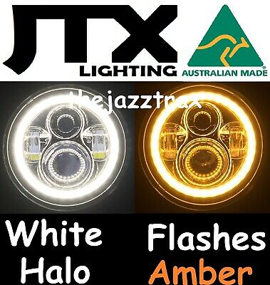 AU375 • Buy Ford F100 F150 F250 F350 Bronco Pick UP LED Halo 7  JTX Headlights Flash AMBER