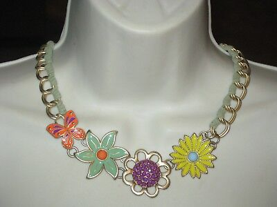$ CDN39.62 • Buy NWT W/BOX Lia Sophia SPRING AHEAD NECKLACE -LOTS OF COLOR-RV $124 LOVELY FLOWERS