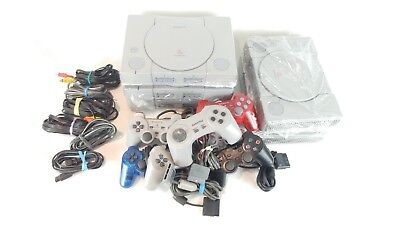 $48.99 • Buy Sony PlayStation 1 ONE Classic PSX Retro Console 2  GAME +  1 CONTROLLE + CABLES