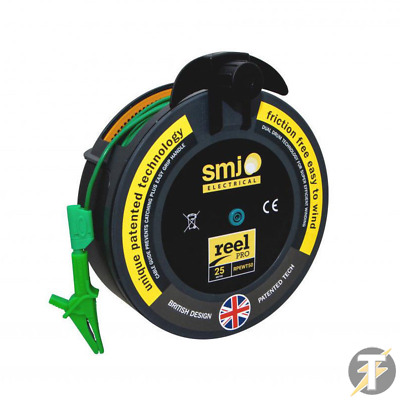 50m Metre R2 Earth Wander Test Lead Fits Fluke, Metrel, Kewtech, Di-Log, • 55£