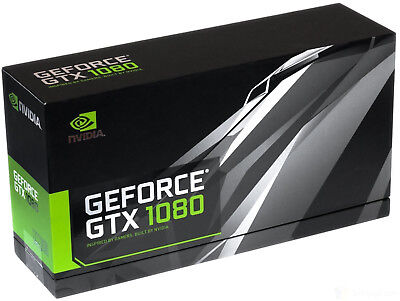 AU1177.79 • Buy NVIDIA GeForce GTX 1080 Founders Edition 8GB GDDR5X PCIE 3.0 Video Graphics Card