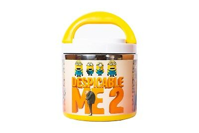 Kids Minions Character Non-Spill Lunch Box For School, Picnics & Outdoor • 6.99£