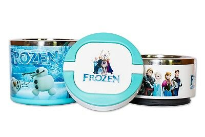 Kids Disney Frozen Character Non-Spill Lunch Box For School, Picnics & Outdoor • 9.99£