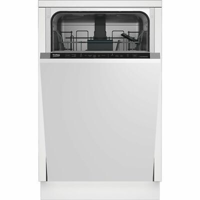 View Details Beko DIS16R10 A++ Fully Integrated Dishwasher Slimline 45cm 10 Place Silver New • 229.00£