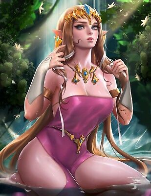 $10.59 • Buy The Legend Of Zelda Art Poster Doujinshi FROM JAPAN