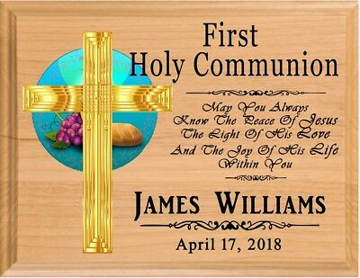 1st Communion Gift PERSONALIZED First Holy Communion Gifts For Girls Or Boys • 23.19£