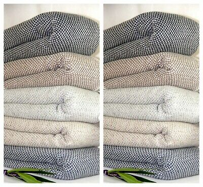 Chunky Cashmere Blanket Wrap Throw Large Shawl Scarf Pashmina Bed Sofa Couch  • 69£