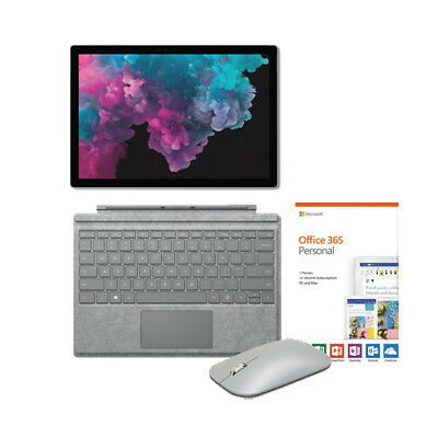 View Details Microsoft Surface Pro 6 12.3  I5 8GB RAM 128GB SSD + Signature Type Cover Bundle • $