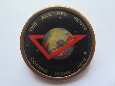 AU58 • Buy World War I Diggers Coming Home Australia Fund Raising Deluxe Badge 1919 Ymca