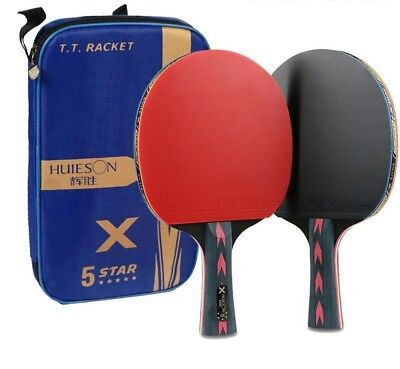 AU57.64 • Buy Table Tennis Racket Sets Lightweight Powerful Ping Pong Paddle Bats Accessories