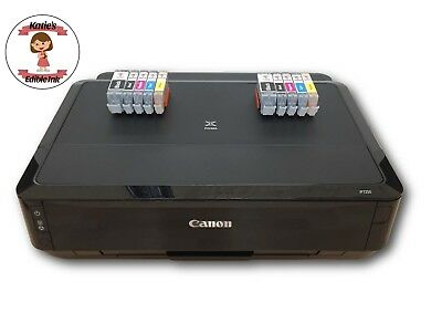 Katie's Edible Ink Printer Canon WiFi TS5050 Edible Ink Cartridges Included X 2  • 259.99£