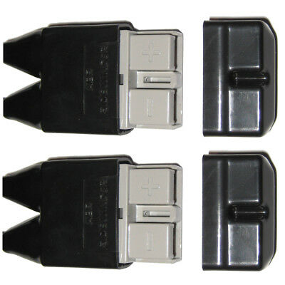 AU4.95 • Buy 2x Anderson Plug Cover Sets For 50 Amp Plugs Boot Kit Dust Covers