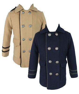 £29.99 • Buy Couche Tot Boys Quilted Winter Coat Jacket And Hat Set 6 Months To 10 Years