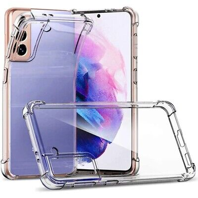 $ CDN5.80 • Buy CLEAR Case For Samsung Galaxy A52 A42 A02s A32 A12 A51 Shockproof Silicone Cover