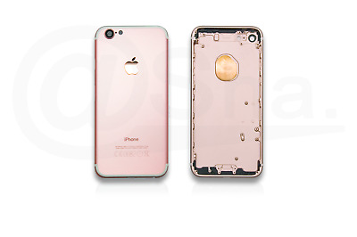 ROSE GOLD - Metal Chassis Rear Replacement Housing Back Cover For IPhone 7 UK • 11.49£