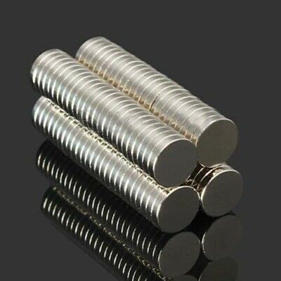 AU13.59 • Buy 100Pcs N52 10X2mm Super Strong Round Disc  Magnet Rare Earth Neodymium Magnets