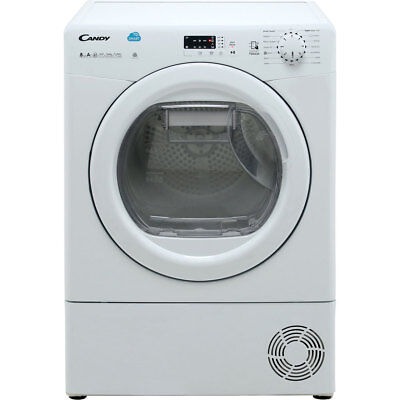 View Details Candy CSH8A2LE Smart A++ Heat Pump Tumble Dryer Condenser 8 Kg White • 369.00£