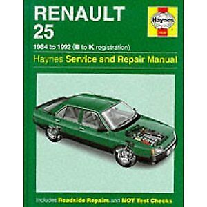 1228 Renault 25 1984 - 1992 Haynes Service And Repair Manual • 12.95£