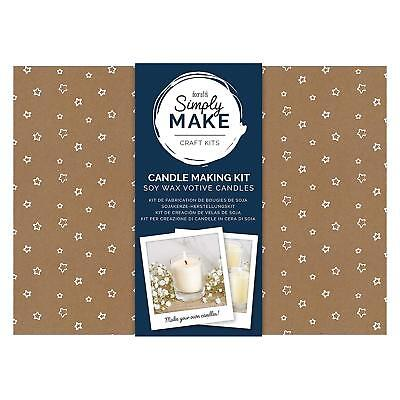 Docrafts Simply Make Craft Kit - Soy Candle Making Kit • 16.99£