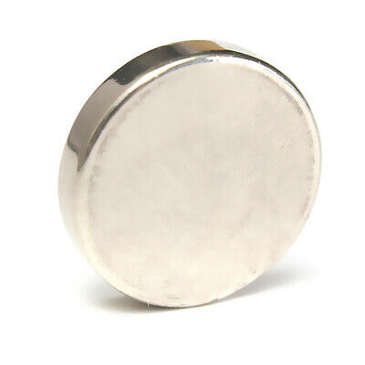 AU7.59 • Buy N52 25mm X 5mm Super Strong Rare Earth NdFeb Large Neodymium Disc Round Magnet