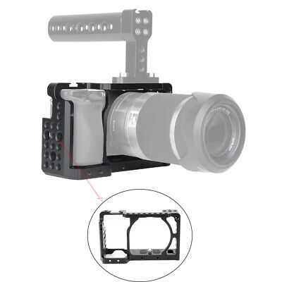 $ CDN34.95 • Buy NICEYRIG DSLR Camera Cage For Sony A6100 A6400 A6300 A6000 With Cold Shoe Mount