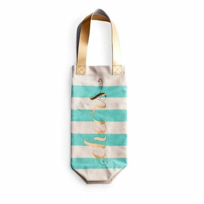 Cheers Cotton Wine Spirit Bottle Tote Bag Designed By Rosanna Inc • 12.99£