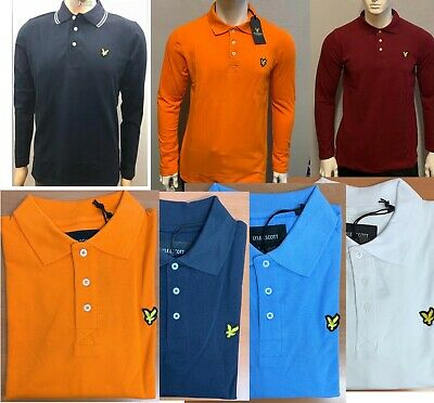 £16.99 • Buy Men's Brand New  Lyle And Scott Long Sleeve Polo Shirt