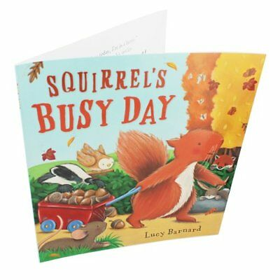 £3.52 • Buy Squirrels Busy Day By Lucy Barnard