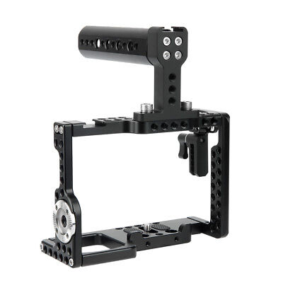 AU85.26 • Buy NICEYRIG A7R3 Camera Cage Cheese Top Handle Grip For Sony A9 A7RIII A7MIII A7SII