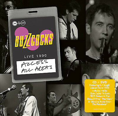 £6.17 • Buy Buzzcocks : Access All Areas: Live 1990 CD Album With DVD 2 Discs (2015)