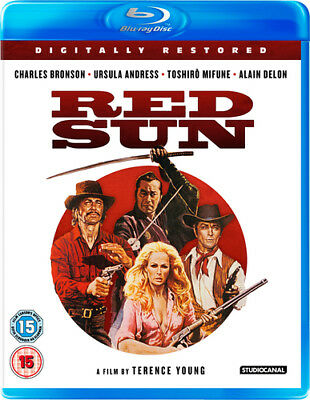 Red Sun Blu-Ray (2015) Charles Bronson, Young (DIR) Cert 15 ***NEW*** • 15.02£