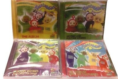 $ CDN39.99 • Buy TELETUBBIES CDs (Lot Of 4) The Album/Go! Exercise/Nursery Rhymes/Bedtime  NEW!