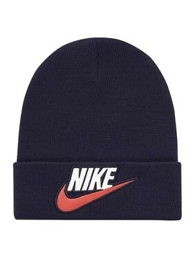 $ CDN157.86 • Buy Supreme X Nike Beanie Navy - 100% Authentic - BRAND NEW