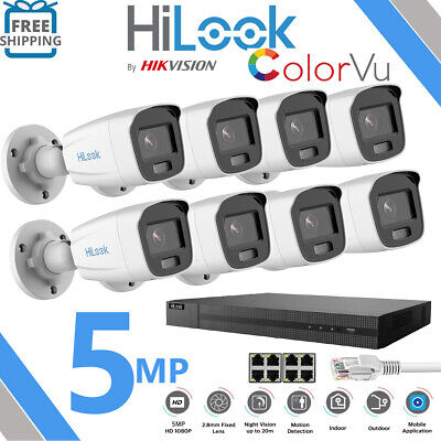 £62.24 • Buy Hizone Pro CCTV 4K 1080P HD 5MP NightVision Outdoor DVR Home Security System Kit