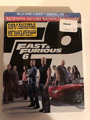 $ CDN24.88 • Buy Fast & Furious 6 Blu-ray Steelbook (Canadian) Extended - NEW! Free Ship Canada!