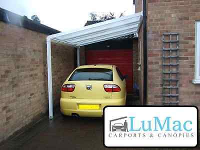 £426.65 • Buy Carport Motorcycle Car Bike Canopie Cover Patio Decking Canopy Shelter Lean To