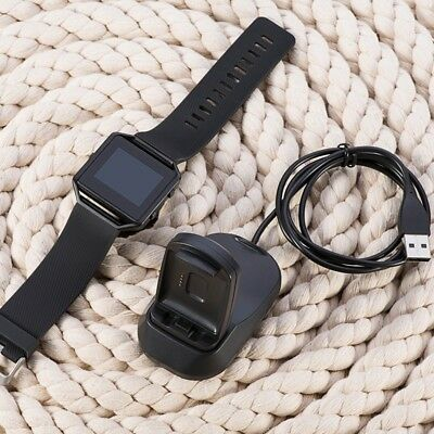 $ CDN7.79 • Buy 2in1 USB Charging Cradle Cable Dock Stand Holder Charger For Fitbit Blaze Watch