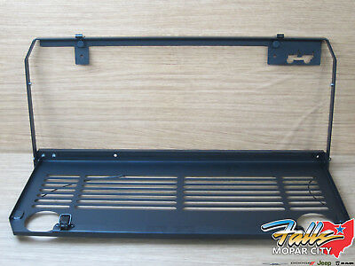 $189.95 • Buy 18-20 Jeep Wrangler JL Tailgate Mounted Folding Table And Cup Holder Mopar OEM